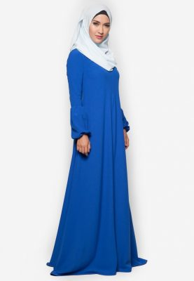 Jubah Qhadeeja Royal Blue