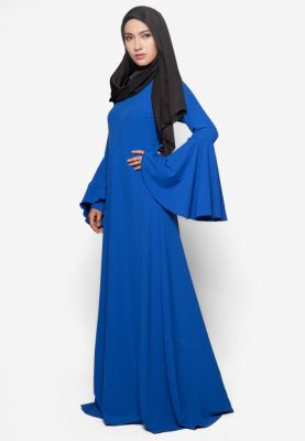 Jubah Rania Royal Blue