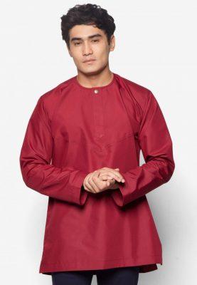 Kurta Al Amin Maroon