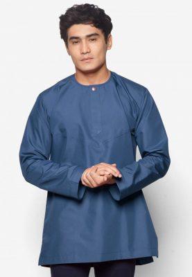 Kurta Al Amin Navy Blue