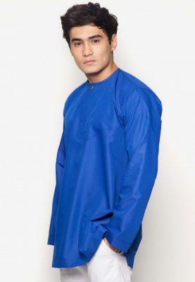 Kurta Al Amin Royal Blue