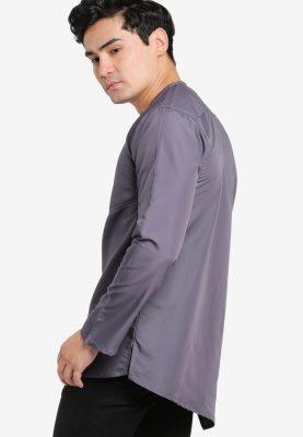 Kurta Al Fattah Dark Grey
