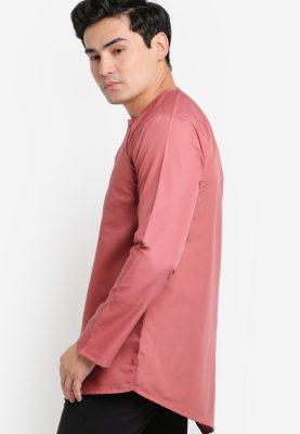 Kurta Al Fattah Dusty Pink