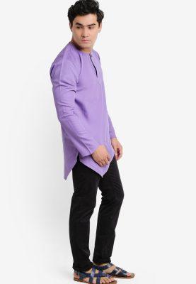 Kurta Al Fattah Lavender Purple