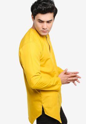 Kurta Al Fattah Mustard Yellow
